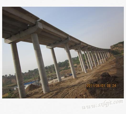 西铜高速公路庄里连接线,陵前立交标段 - 陕西路桥