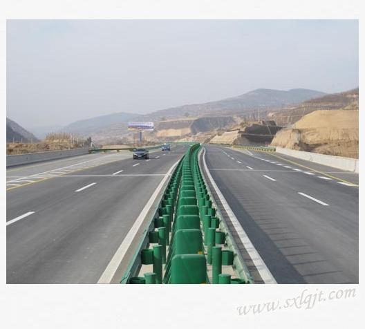 分离式道路标志图解 转弯半径 渡口